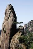 Montagna rocciosa alta Fotografie Stock Libere da Diritti