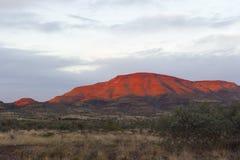 Montagna rossa Outback Immagini Stock Libere da Diritti