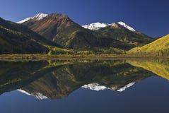Montagna rossa Pass-03 fotografie stock libere da diritti