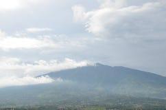 Montagna Salak fotografia stock