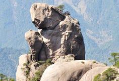 montagna sanqing Fotografia Stock