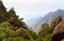 Montagna sanqing della collina della provincia della Cina jiangxi Fotografia Stock Libera da Diritti