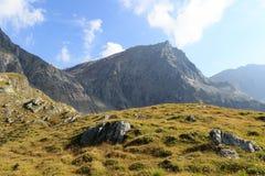 Montagna Saulkopf, alpi di Hohe Tauern, Austria Fotografia Stock Libera da Diritti