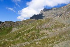Montagna Saulkopf, alpi di Hohe Tauern, Austria Immagini Stock