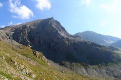 Montagna Saulkopf nelle alpi di Hohe Tauern, Austria Fotografia Stock