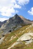 Montagna Saulkopf nelle alpi di Hohe Tauern, Austria Fotografia Stock Libera da Diritti