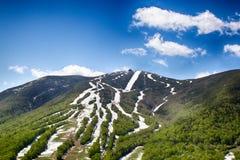 Montagna Ski Area del cannone Immagini Stock