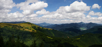 Montagna Slovacchia Fotografia Stock Libera da Diritti