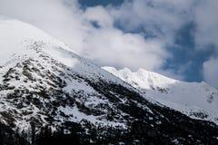 Montagna in Slovacchia, alto Tatras Immagini Stock