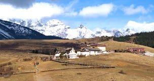 Montagna Snowcapped Immagini Stock