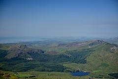 Montagna in Snowdonia Immagini Stock