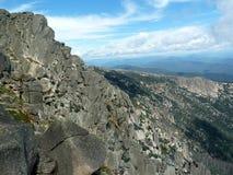 Montagna in sosta nazionale Fotografia Stock