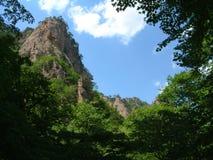 Montagna, sosta nazionale di Seoraksan, Corea Immagine Stock