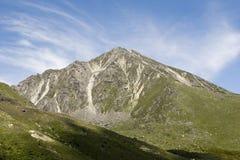 Montagna sotto il cielo 4 Immagini Stock Libere da Diritti