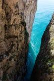 Montagna Spaccata, Gaeta, Latina, Itália imagens de stock royalty free