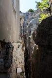 Montagna Spaccata, Gaeta, Latina, Italy Royalty Free Stock Photo