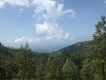 montagna in Sri Lanka Fotografia Stock Libera da Diritti