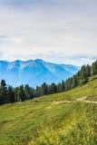 Montagna stante latente in Austria Fotografie Stock Libere da Diritti