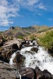 Montagna Stram, Snowdonia, Galles Fotografia Stock