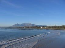 Montagna Sudafrica della Tabella Fotografia Stock