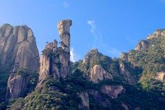 Montagna-supporto Sanqingshan del pitone Fotografia Stock
