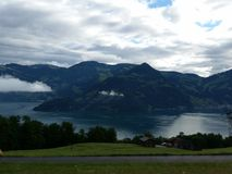 Montagna Svizzera fotografie stock libere da diritti