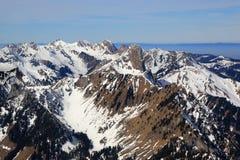 Montagna Svizzera delle montagne di Stockhorn Gantrisch delle alpi di Bernese Immagine Stock Libera da Diritti