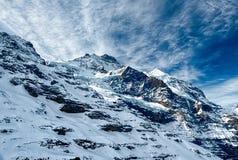 Montagna svizzera, Jungfrau, Svizzera, Fotografia Stock Libera da Diritti