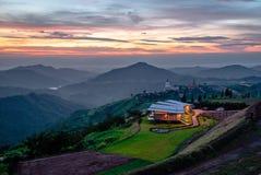 Montagna Tailandia del paesaggio Fotografia Stock