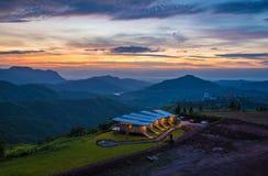Montagna Tailandia del paesaggio Immagine Stock