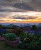 Montagna Tailandia del paesaggio Immagine Stock Libera da Diritti
