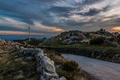 Montagna Tondela, Portogallo di Caramulo Fotografia Stock Libera da Diritti