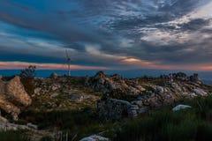 Montagna Tondela, Portogallo di Caramulo Fotografie Stock