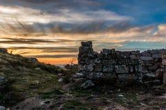 Montagna Tondela, Portogallo di Caramulo Immagini Stock