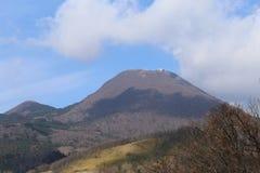 Montagna Tsurumi-dake nel Giappone Immagini Stock Libere da Diritti