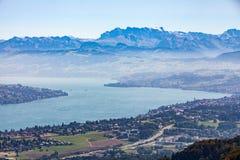 Montagna Uetliberg, Svizzera di Zurigo Immagini Stock