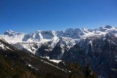 Montagna in Valtellina Immagine Stock Libera da Diritti