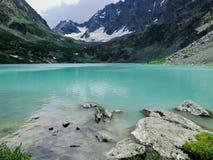Montagna zero sul Altai Fotografia Stock