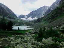 Montagna zero sul Altai Immagine Stock
