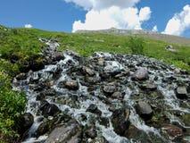 Montagna zero sul Altai Immagini Stock Libere da Diritti