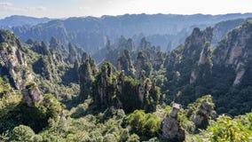 Montagna a Zhangjiajie immagine stock