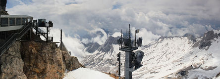 Montagna Zugspitze Fotografia Stock