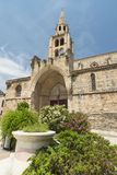 Montagnac (France), gothic church Stock Photos