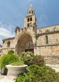 Montagnac (France), gothic church Royalty Free Stock Image