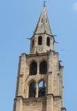 Montagnac, gothic church Stock Photography