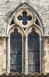 Montagnac, gothic church Royalty Free Stock Image