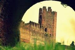 Montagnana medeltida stad Royaltyfria Bilder