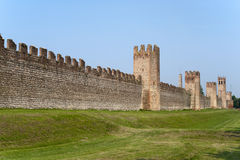 Montagnana (Padova, italy) - Medieval walls Stock Photo