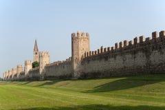 Montagnana (Padova, Veneto, italy) - Walls Stock Images