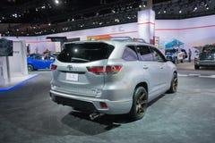 Montagnard TRD de Toyota Images stock
